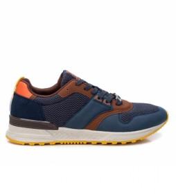 Zapatillas 043258 azul marino