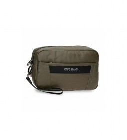Bolso de mano Paxton verde -24,5x15x6cm-