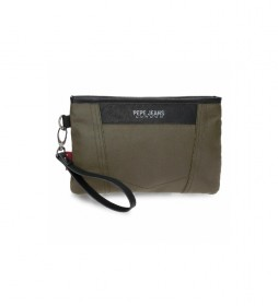 Bolsa de mano Paxton verde -25x16x1cm-