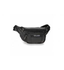Riñonera Paxton negro -30x13x5cm-