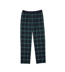 Pantalón de pijama a Cuadros marino