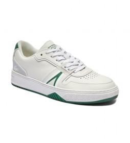 Zapatillas de piel Court L001 blanco