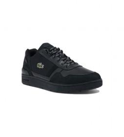 Zapatillas de piel T-Clip negro
