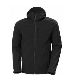 chaqueta Paramount T Hooded Softshell negro