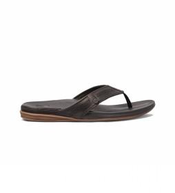 Sandalias de piel Cushion Bounce Lux marrón