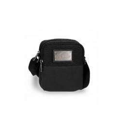 Bandolera Scratch negro -12x15x3,5cm-