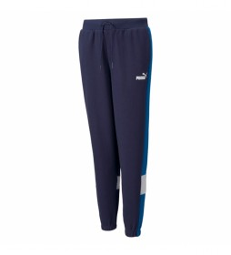 Pantalones Ess+ Colorblock FL cl B marino