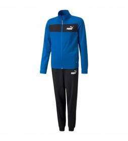 Chándal Poly Suit cl B azul, negro