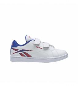 Zapatillas RBK ROYAL COMPLETE CLN ALT 2.0 blanco, azul, rojo