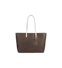 Bolso Shopper MD marrón -42,5 x 28,5 x 12 cm-