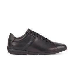 Zapatillas de piel Saturn Lowp Lux4 negro