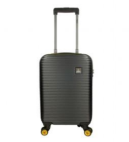 Maleta Cabina Abroad negro -35x20x54cm-
