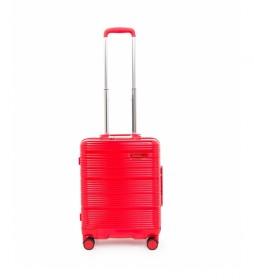 Maleta cabina Globe Trotter rojo -52,7x39,3x21cm-