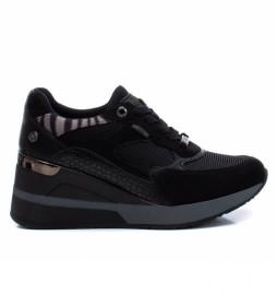 Zapatillas 036710 negro -Altura tacón 6 cm-
