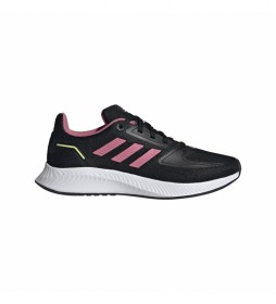 Zapatillas Runfalcon 2.0 K negro, rosa