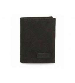 Cartera vertical Oliver negro -8,5x 10,5x1cm-