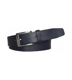 Cinturón de piel New Aly marino