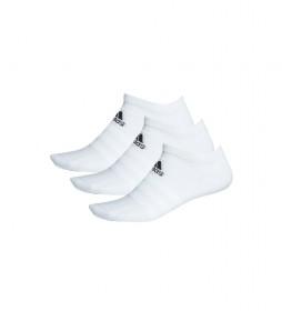 Pack de 3 Calcetines Light Low blanco