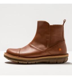 Botines de piel 1730 Misano marrón