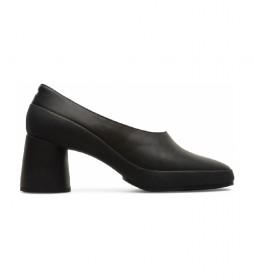 Zapatos de piel Upright negro -Altura tacón: 7,5cm-