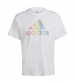 Camiseta Pride Logo Graphic Tee (Gender Neutral) blanco
