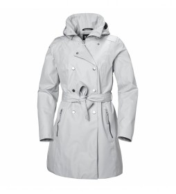 Chaqueta Welsey II Trench gris claro / Helly Tech /