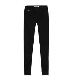 Jeans Nora MR Skny Stbks negro