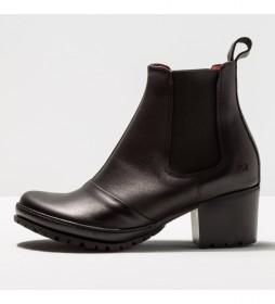 Botines de piel 1235  Camden negro -Altura tacón: 5.5 cm-