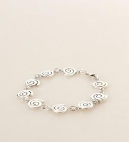 Pulsera Espiral plata