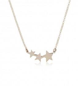 Collar Estrellas plata