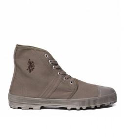 Zapatillas unisex Spare High gris