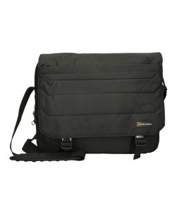 Portadocumentos Pro  negro -38x10,5x31cm-