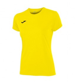 Joma  T-SHIRT COMBI WOMAN YELLOW WOMAN M / C