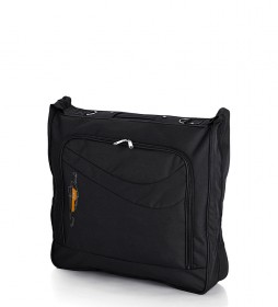 Portatrajes Week negro -55x110x7 cm-