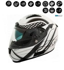 Lem Helmets Full-face helmet LEM Star white, black