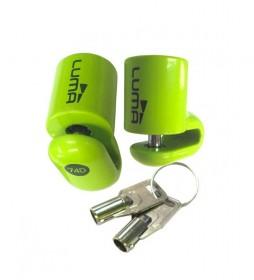 Luma Antifurto Enduro 74D verde  - 57x7mm -