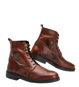By City Brown Safari Boots