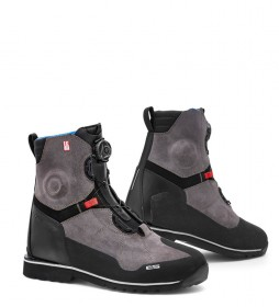 REV´IT! Botas de piel Pioneer OutDry negro, gris