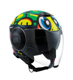 Agv Casco jet City Fluid Tartaruga