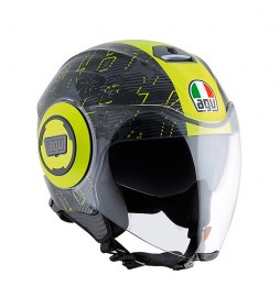 Agv Helmet jet City Fluid Ibiscus