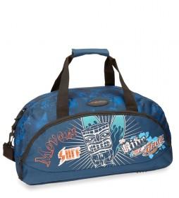 Bolsa Movom 3383651 azul - 28x50x26cm -