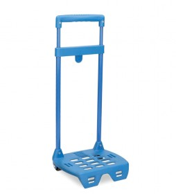 Carro escolar Mini Roll Road azul-37x18x16 cm-