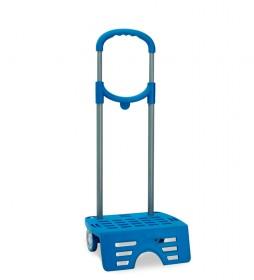 Carro escolar Roll Road azul-58x27x22 cm-