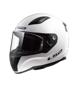 LS2 Helmets Casco integral Rapid FF353 Solid White