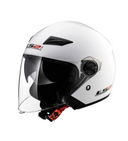 LS2 Helmets Casco Jet Track OF569 Solid White