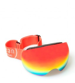 Ocean Sunglasses Red Arlberg snow glasses with red revo glass