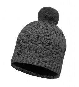 Buff Knitted polar hat Savva gray