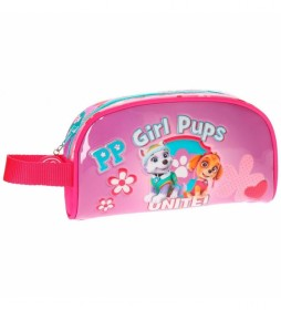 Neceser La Patrulla Canina Girls Pups -21,5x12x5,5cm- rosa
