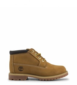 Timberland Leather boots AF-NELLIE-DBLE brown
