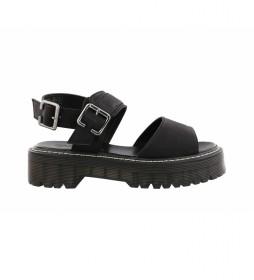 Sandalias Santora 02 negro -Altura de la plataforma: 5 cm-